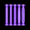 columns-mini.STL Download 3MF file Miniature model making columns 3D print model • 3D printable design, RachidSW