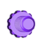 knob.stl Download free STL file The First Clock • 3D print design, JacquesFavre
