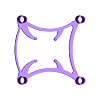 Chasis.stl Download free STL file Mini Drone • 3D printable template, Ginesor