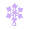 flake2.STL Download free STL file Dainty Snowflake Xmas Ornament • 3D printer object, Odrenria