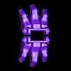 68_Drag_Leg18_FootToe_GREY.stl Download STL file ARTICULATED DRAGONLORD (not Dragonzord) - NO SUPPORT • 3D printer model, Toymakr3D