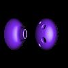 ocarina_split_face.stl Télécharger fichier STL gratuit Jouets Instruments de musique • Plan pour impression 3D, leothemakerprince